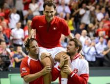 Federer, aproape sa isi implineasca visul! Elvetia e in finala Cupei Davis