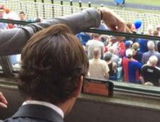 Federer, dat de gol - ce facea in timpul finalei de la Roland Garros