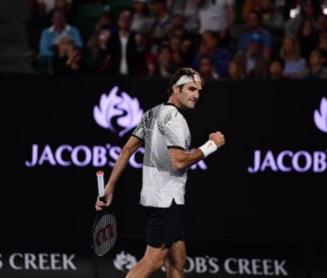 Federer, in finala la Australian Open dupa un meci de vis cu Wawrinka