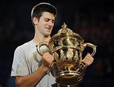 Federer, invins de Djokovici in finala de la Basel