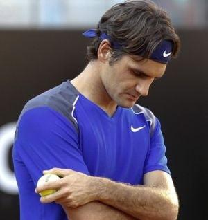 Federer, la pamant