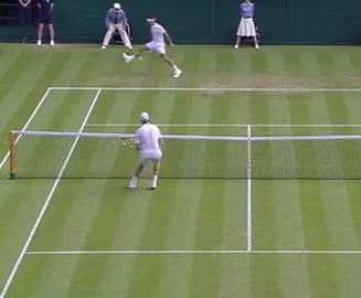 Federer, lovitura extraordinara la Wimbledon (Video)