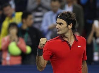 Federer, rege la Shanghai. Un numar record de trofee castigate