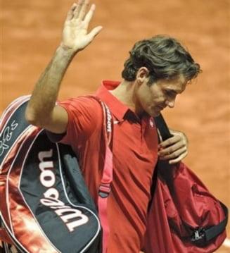 Federer, umilit la el acasa