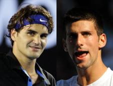 Federer-Djokovici, prima semifinala masculina de la US Open