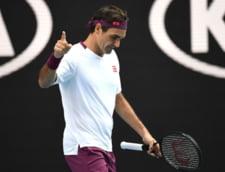 """Federer ajunge in semifinale la Australian Open dupa un """"sfert"""" nebun, in care a salvat 7 mingi de meci!"""