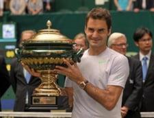Federer castiga primul trofeu dupa un an