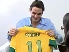 Federer i-a lasat masca pe brazilieni