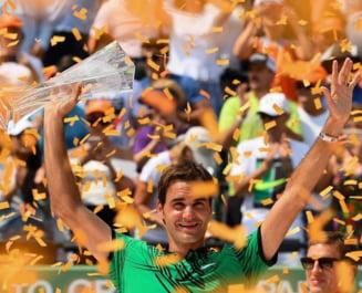 Federer ia o decizie surprinzatoare dupa victoria de la Miami