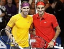 Federer l-a batut din nou pe Nadal