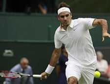 Federer s-a calificat fara probleme in turul doi la Wimbledon