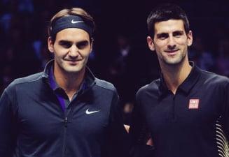 Federer si Djokovici, disputa aprinsa la Turneul Campionilor: Asa a zis?