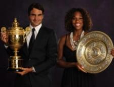 Federer si Serena Williams, tenismenii anului 2009