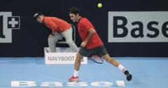 Federer triumfa la turneul sau de casa, in finala cu Del Potro si ii sufla in ceafa lui Rafa Nadal