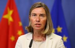 Federica Mogherini si-a anulat vizita in Israel, pentru ca Netanyahu a refuzat o intalnire
