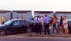 Femeie spulberata pe trecerea de pietoni, de un BMW. S-a intamplat pe strada Frasinet