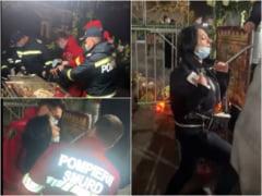 """Femeie urlând din răsputeri, """"tratată"""" chiar de SMURD cu o tură prin fața moaștelor Cuvioasei Parascheva din Iași VIDEO"""