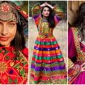 "Femeile afgane lupta pentru libertate postand imagini in care poarta costume nationale: ""Asa se imbraca femeile afgane!"""