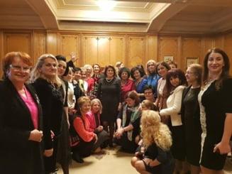 Femeile din PSD: Liberalii sunt nervosi pentru ca incearca sa-i protejeze pe cei care fura bogatiile Romaniei si banii romanilor