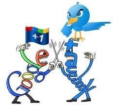 Femeile prefera Facebook si Twitter, iar barbatii, Google+