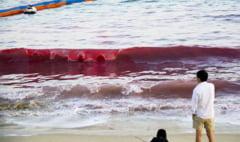 Fenomen neobisnuit in China: Apa marii a devenit rosie ca in scrierile Bibliei