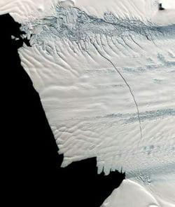 Fenomen periculos in Antarctica (Video)
