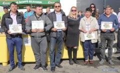 Fermierii campioni din judetul nostru, premiati de Directia pentru Agricultura a Judetului Giurgiu! (FOTO)