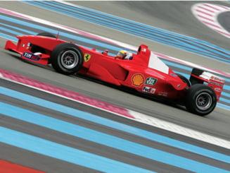 Ferrari F1-2000 pilotat de Schumacher, starul licitatiei din Monaco
