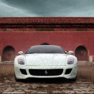 Ferrari a creat o versiune unicata a lui 599 GTB Fiorano pentru China
