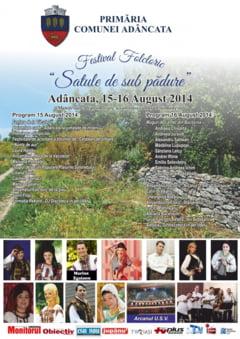 Festival folcoric la Adincata