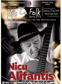 """Festivalul """"Mai cu folk"""", duminica, in Parcul Copou"""