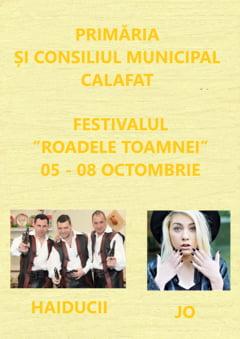 """Festivalul """"Roadele Toamnei"""" Calafat- 05 - 08 octombrie 2017"""