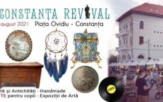 Festivalul Art & Craft revine. Obiecte de arta, antichitati, ateliere de mestesuguri in Piata Ovidiu din Constanta