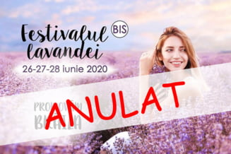 Festivalul Lavandei din Baragan (BIS) a fost anulat