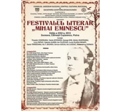"Festivalul literar ""Mihai Eminescu"""