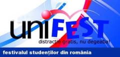 Festivalul studentesc Unifest incepe luni  Concursuri  teatru si concerte gratuite Distracţie gratis, nu degeaba @Unifest