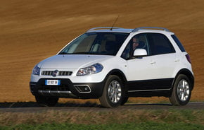 Fiat Sedici facelift a debutat pe piata din Italia