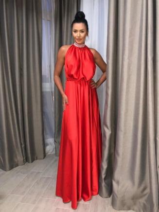 Fii mereu surprinzatoare intr-o rochie Ramona Badescu