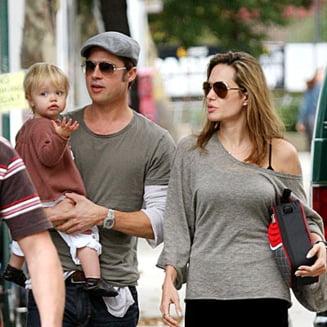 Fiica Angelinei Jolie vrea sa fie baiat