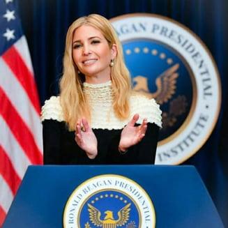 Fiica lui Donald Trump s-ar vedea prima femeie presedinte din istoria Statelor Unite