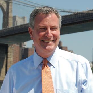 Fiica primarului New York-ului a fost arestata in timpul unui protest