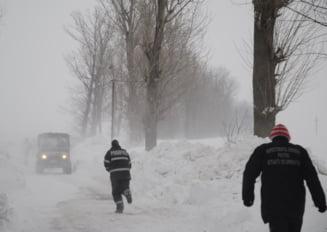 Filmul unei zile in care Romania a ramas din nou ingropata in nameti
