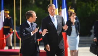 Filmul zilei in care presedintele Macron a venit in Romania - Justitie, Schengen si elicoptere