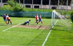 Final palpitant in Liga IV de fotbal