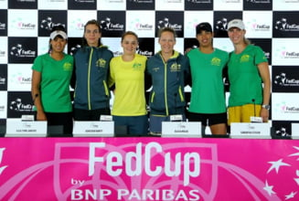 Finala Fed Cup 2019: Iata programul meciurilor