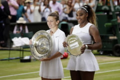 Finala dintre Simona Halep si Serena Williams, la un singur minut de a deveni cea mai rapida din istoria Wimbledonului