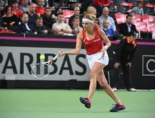 Finalista sezonului trecut din Fed Cup a fost eliminata in primul tur in 2017