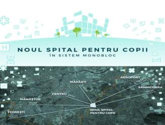 Finantarea integrala a Spitalul Pediatric Monobloc din Cluj, pe masa ministrului fondurilor europene