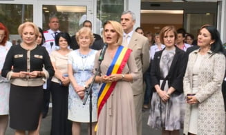 Firea a inaugurat un spital inceput de Oprescu in primul mandat si vrea mai multe spitale in subordinea Primariei