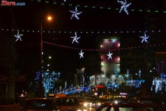 Firea pregateste Capitala pentru Sarbatori - targuri, focuri de artificii si brazi roz
